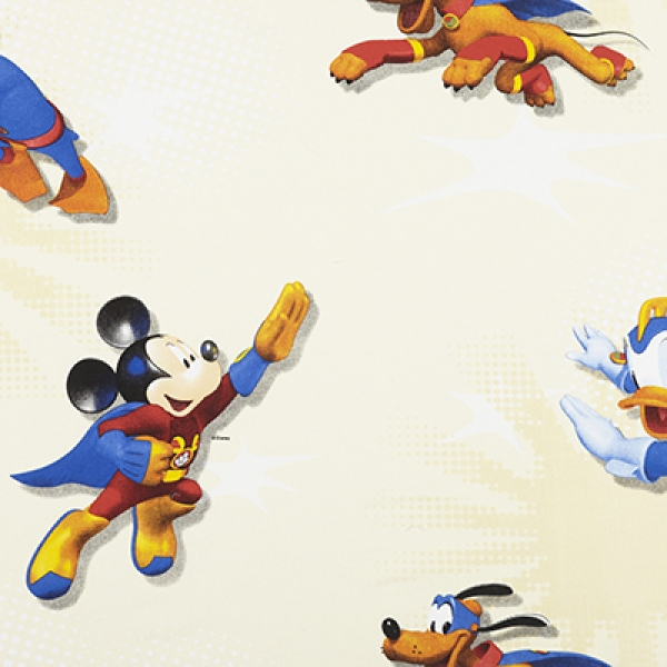 Disney, Donald Duck, Mickey Mouse Stof Ivoor