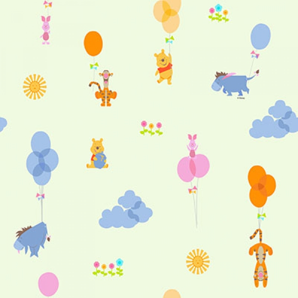 Disney, Winnie the Pooh Stof Ivoor