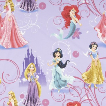Disney Princess Stof GLAMOUR.35.140