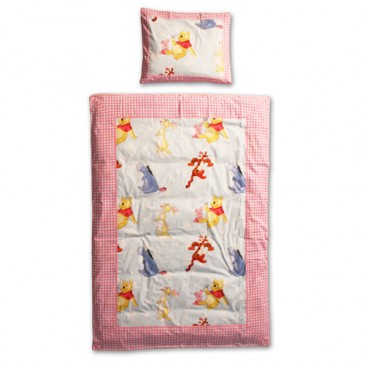 Disney Winnie the Pooh Stof PATCH DUVET COVER