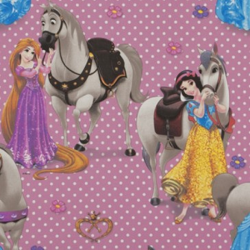 Disney Princess Stof CAVALOS.33.140