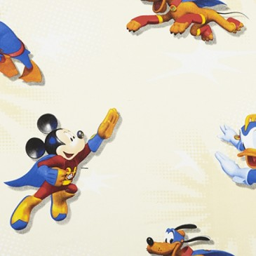 Disney Donald Duck Mickey Mouse Stof SUPERMICK.11.140