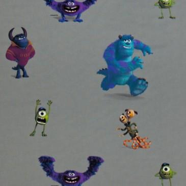Disney Monsters Inc Stof MONSTERS.53.140