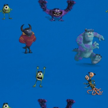 Disney Monsters Inc Stof MONSTERS.40.140