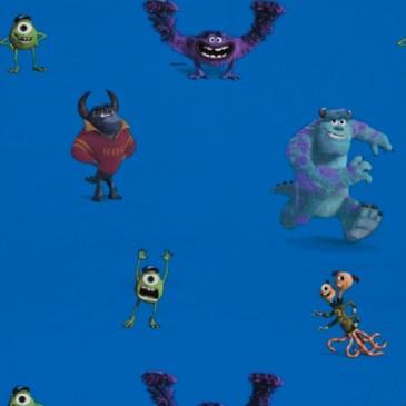Disney Monsters Inc Stof MONSTERS.40.140