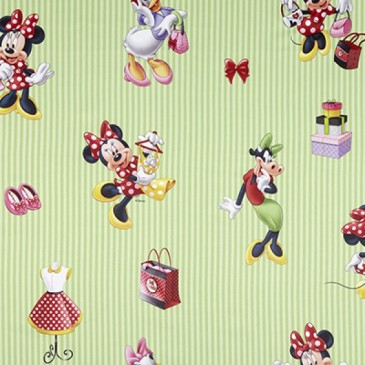 Disney Minnie Mouse Stof SUNSHOP.45.150