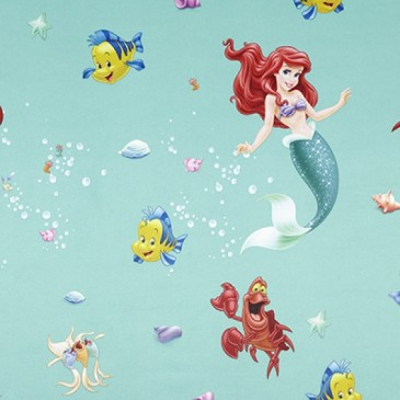 Disney The Little Mermaid Stof SUNSIREN.45.150