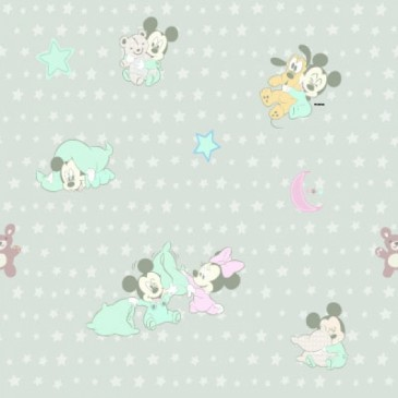 Disney Mickey Mouse Minnie Mouse Stof DIGSNUGLE.53.140