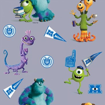 Disney Monsters Inc Stof DIGMIKE.55.140
