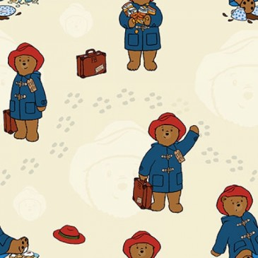 Paddington Bear Stof DIGTRAVEL.13.140