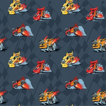 Cars Disney Stof VROOM.57.140