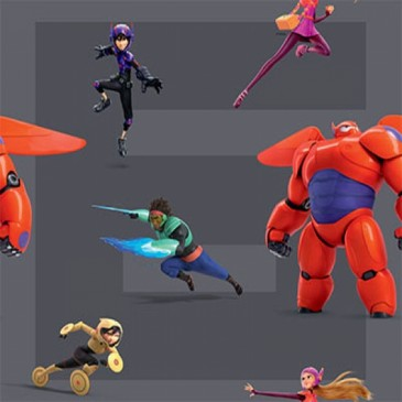 Big Hero 6 Disney Stof BAYMAX.55.140
