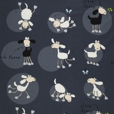Stof SHEEPNOIR.55.140