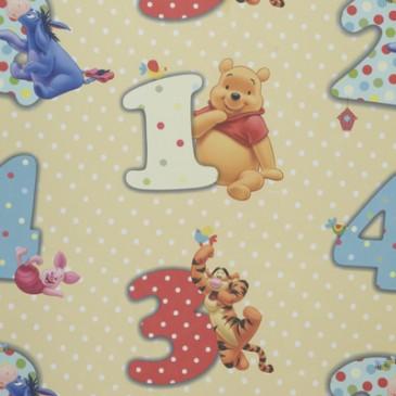 Disney Winnie the Pooh Stof NUMBERVO.13.150