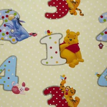 Disney Winnie the Pooh Stof NUMBER.13.140
