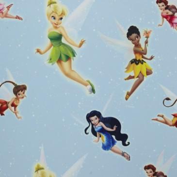 Disney Tinkerbell Stof SUNSILVER.38.150
