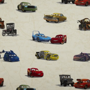 Cars Disney Stof CARS.11.140