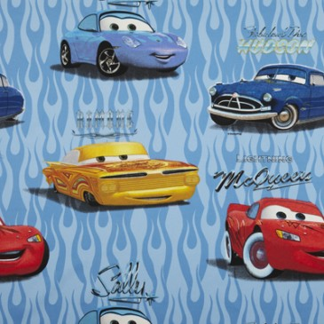 Cars Disney Stof CUSTOMS.38.140