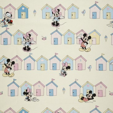 Disney Mickey Mouse Minnie Mouse Stof BEACHHUT.11.140