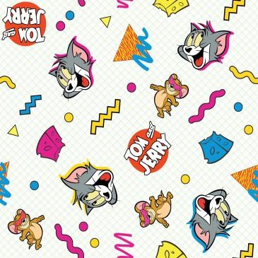 DC Comics Tom & Jerry Warner Bros Stof CHEESE.330.140