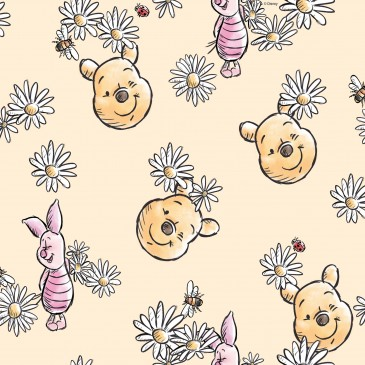 Disney Winnie the Pooh Stof DAISY.240.140