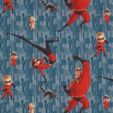 Disney The Incredibles Stof DIBLE.395.140