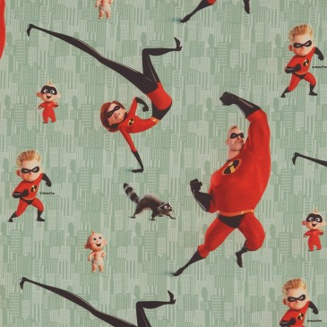 Disney The Incredibles Stof DIBLE.441.140
