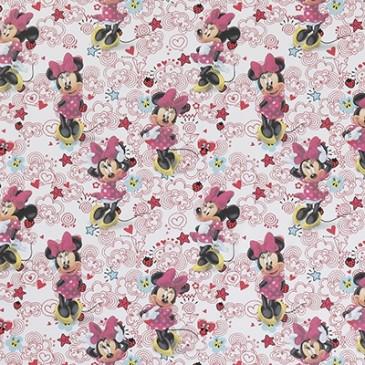 Disney Minnie Mouse Stof DOODLE.10.140