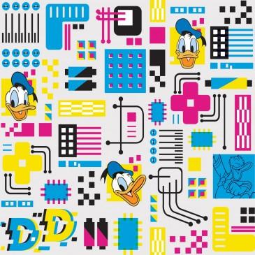 Disney Donald Duck Stof DOTECH.100.140