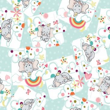 Disney Dumbo Stof DREAMY.440.140