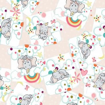 Disney Dumbo Stof DREAMY.331.140