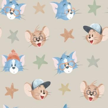 Tom & Jerry Warner Bros Stof FACIAL.130.140