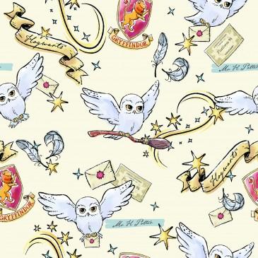 Harry Potter Warner Bros Stof HEDWIG.110.140