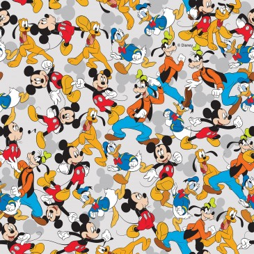 Disney Donald Duck Mickey Mouse Stof MIXED.530.140