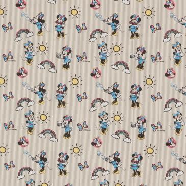 Disney Minnie Mouse Stof RAINBOW.13.140