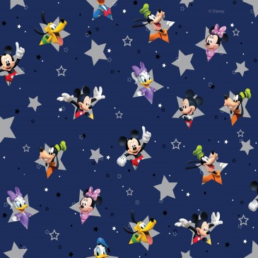 Disney Donald Duck Mickey Mouse Minnie Mouse Stof STERN.420.140