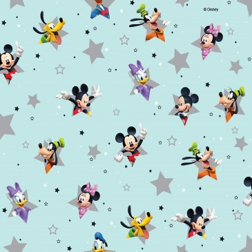 Disney Donald Duck Mickey Mouse Minnie Mouse Stof STERN.390.140