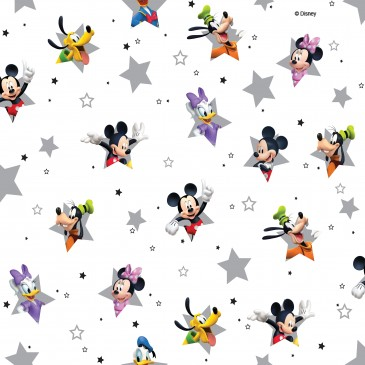 Disney Donald Duck Mickey Mouse Minnie Mouse Stof STERN.100.140