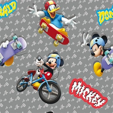 Disney Donald Duck Mickey Mouse Stof SUNMASH.55.150