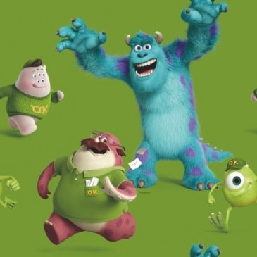 Disney Monsters Inc Stof SUNSULLEE.45.150